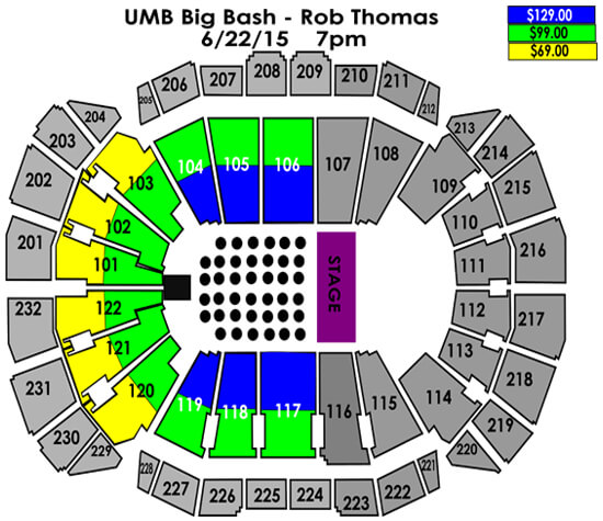 UMB Big Bash- Rob Thomas June 22